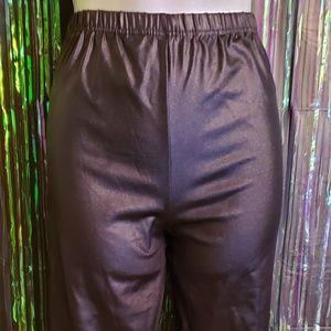 """Pants - Plus size """"leather"""" leggins"""